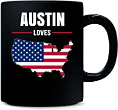Austin Loves Usa 4th July Independence Day Gift - Mug