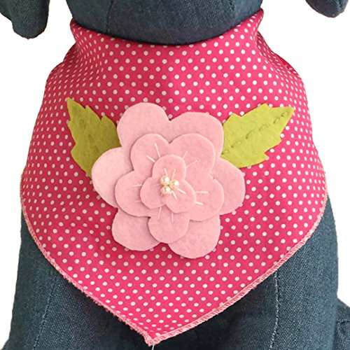 Tail Trends Oaster Dog Halstuch mit Osterhase und Ostereier Motiven - 100% Baumwolle