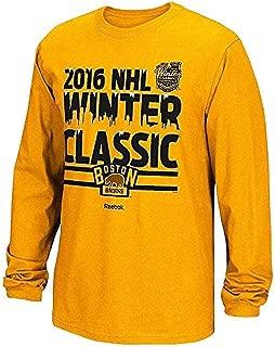 Boston Bruins NHL Youth 2016 Winter Classic Long Sleeve T-Shirt - Gold