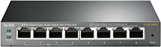 TP-Link 8-Port Gigabit Easy Smart Switch with 4-Port PoE+ - Plug & Play, Sturdy Metal, Shielded Ports, Support QoS, Vlan, ...