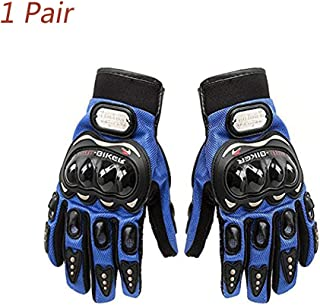 Sunflower Pro-Biker Bicycle Short Sports Leather Motorcycle Powersports Racing Gloves