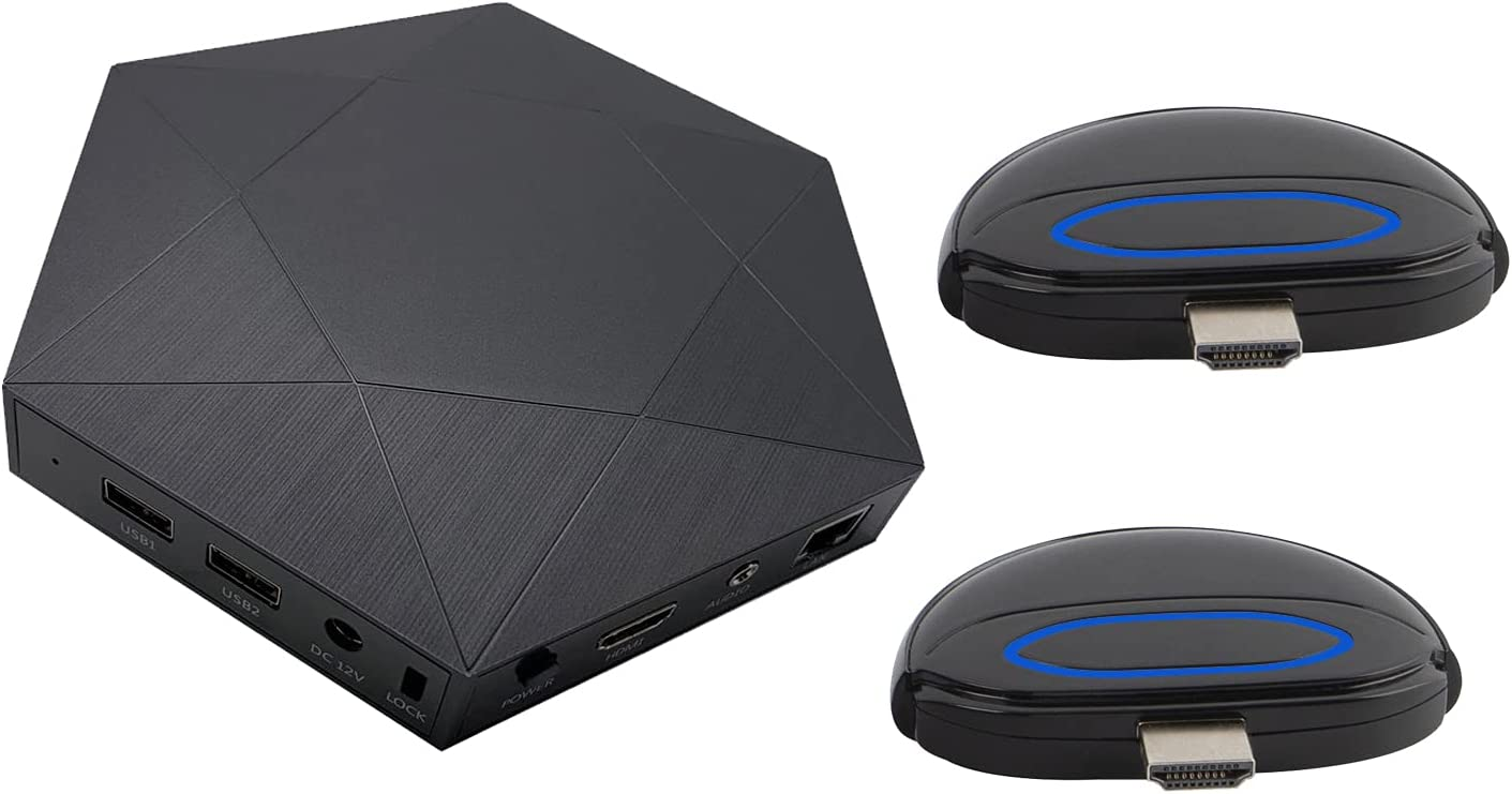 5G WiFi Wireless HDMI Receiver Cash special price Colorado Springs Mall Present Transmitter and