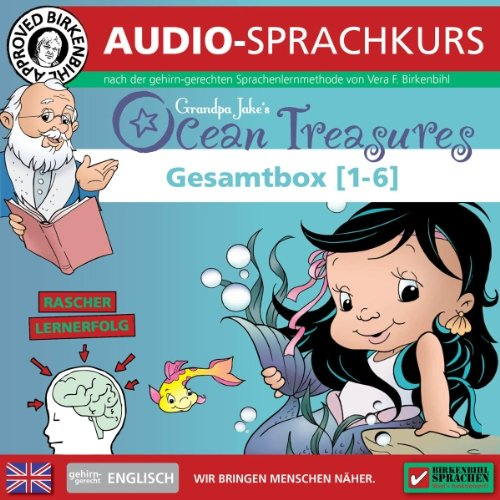 Englisch gehirn-gerecht: Ocean Treasures 1 - 6 (Birkenbihl Sprachen) Titelbild
