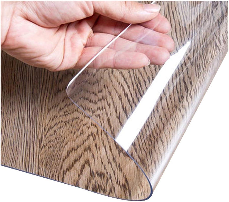 ahorre 60% de descuento JIANFEI JIANFEI JIANFEI Manteles Resistente A Los Araazos PVC Transparente, 19 Tamaos 2 Tipos Personalizables (Color   A-Clear, Tamao   70x140cm)  ahorra hasta un 70%