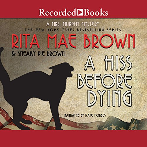 A Hiss Before Dying audiobook cover art