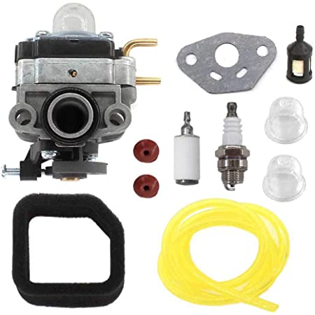 Amazon.com : AISEN Carburetor with Gasket for Troy Bilt TB516EC Edger 29cc  4 Stroke Engine Air Filter Fuel Line Fuel Filter : Garden & OutdoorAmazon.com