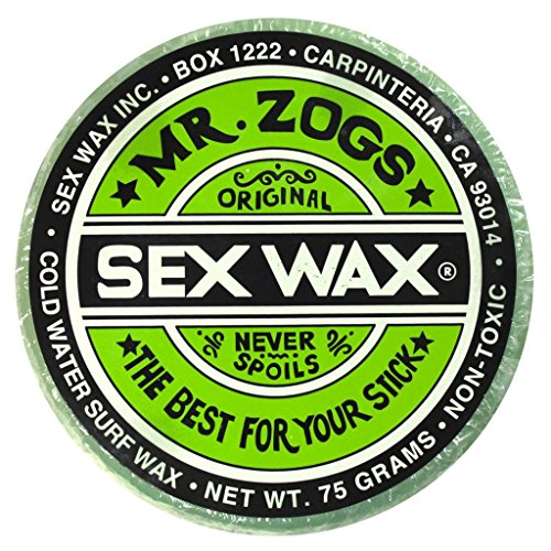 Mr. Zogs Original Sexwax - Cold Water Temperature Pineapple Scented (Aqua-Blue Color)