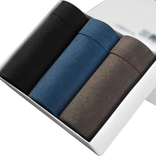 ST apparel sous-vêteHommests d'été en Coton pour Hommes Boxer Corner Pancravates Boxer Briefs pour la Jeunesse (Couleur   B, Taille   5XL)