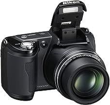 Nikon L105 12.1 MP Digital Camera with 15x Optical Zoom - Black