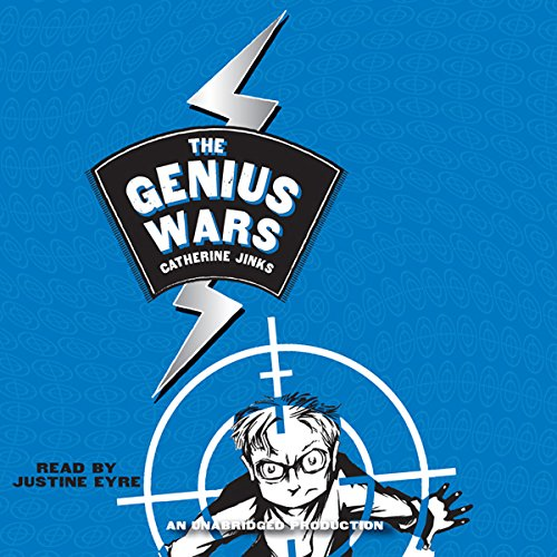 The Genius Wars audiobook cover art