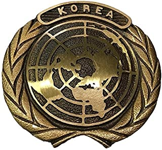 Korean War Bronze Grave Marker with Brass Ground Stake