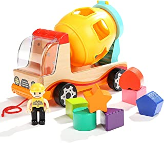 TopBright Mixer Truck with Shape Sorter, Pack of 1