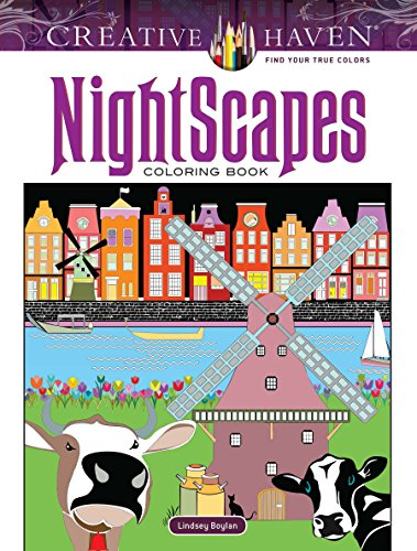 Creative Haven NightScapes Coloring Book (Adult Coloring)