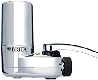 Brita Basic Faucet Water Filter System, Chrome, 1 Count - 35618