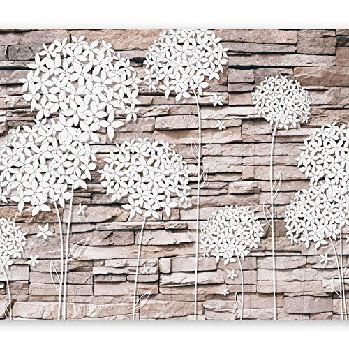 murando Fotomurales Diente de leon 350x256 cm XXL Papel pintado tejido no tejido Decoración de Pared decorativos Murales moderna Diseno Fotográfico Flores Naturaleza Piedras b-C-0034-a-d