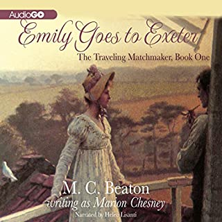 Emily Goes to Exeter audiobook cover art