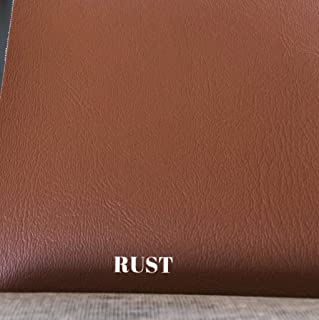 Luvfabrics Marine Faux Leather Upholstery Hospitality Automotive Vinyl Water Resistant (Rust) Ships Rolled