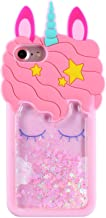 FunTeens Bling Unicorn Case for Apple iPod Touch 6th 5th Generation,3D Cartoon Animal..