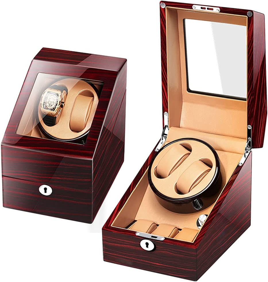 Automatic Max Ranking TOP17 48% OFF Watch Winder 2 Watches for Shaker Man Lady and