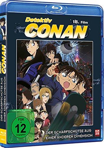 Detektiv Conan: Der Scharfschütze aus einer anderen Dimension - 18.Film - [Blu-ray]