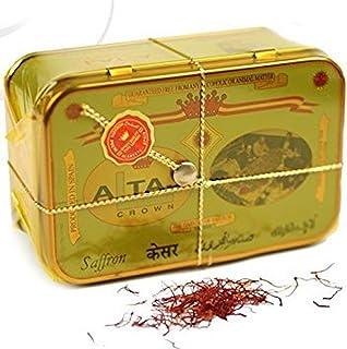 Alma Gourmet Altaj Premium Spanish Saffron Threads Spice 1 Ounce Tin