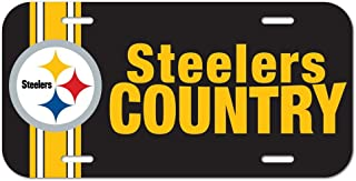 Wincraft NFL Pittsburgh Steelers 69318091License Plate