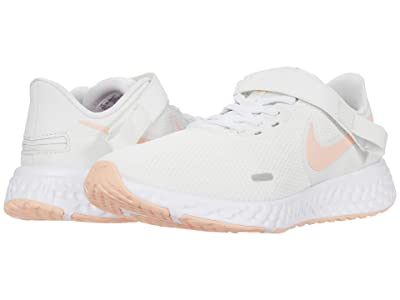 Nike Flyease Revolution 5 (Summit White/Washed Coral/Fire Pink) Women
