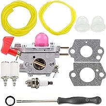 Leopop C1U-W43 Carburetor for Poulan VS-2 BVM200FE Leaf Blower Craftsman 545081857 Carburetor Kit w Fuel Line Carb Adjusting Tool