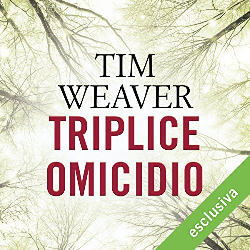 Triplice omicidio audiobook cover art