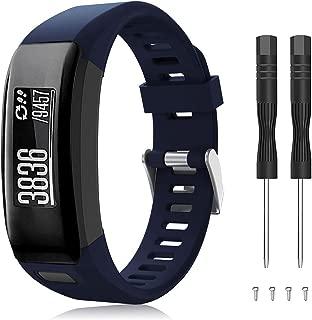 Younsea Compatible Garmin Vivosmart HR Watch Band, Accessories Adjustable Soft Silicone Replacement Wrist Watch Strap Designed for Garmin Vivosmart HR Smart Sport Watch