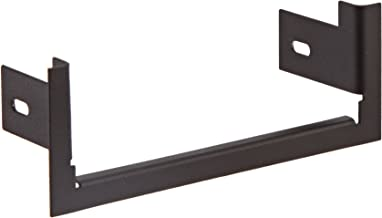 HES Stainless Steel Trim Enhancer for 7000 Series Electric Strike Plate, Nylon Black Coated Finish
