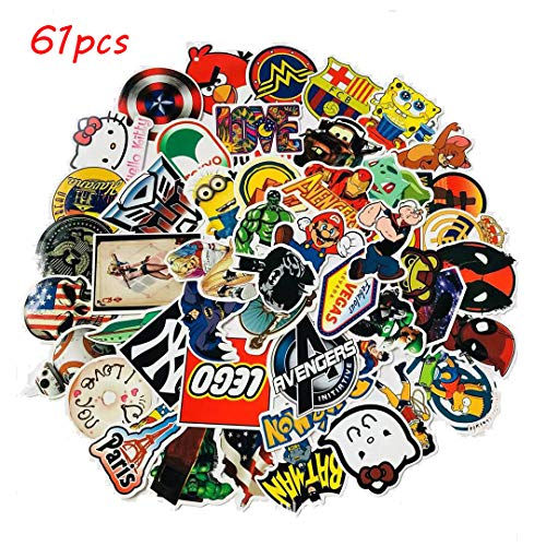 YCYY 61 Don't Repeat Cool Personality Cartoon Angry Birds Doodle Sticker Suitcase Notebook Helmet Car Stickers