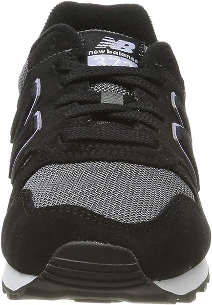 New Balance 373, Sneaker Donna, Nero (Black/White Black/White ...