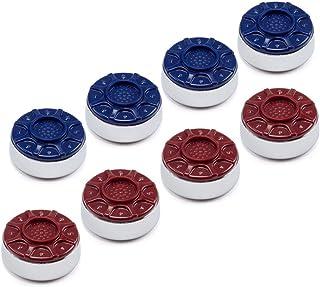 "GSE Games & Sports Expert 2-1/8""(53mm) or 2-5/16""(58mm) Premium Shuffleboard Pucks - Set of 8"