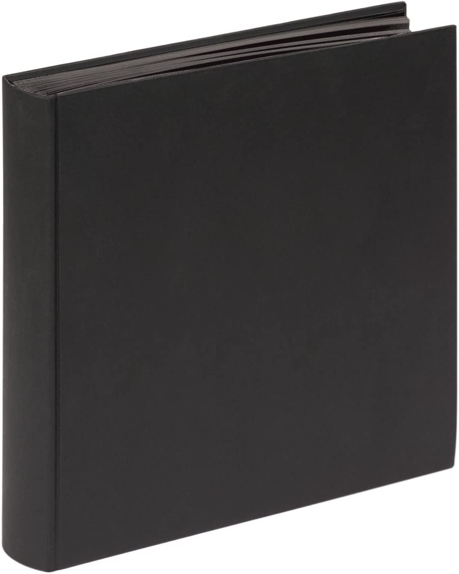 Walther Fun Clearance SALE! Limited time! Book Bound Album Import for Blac Textured Pages 100 Paper
