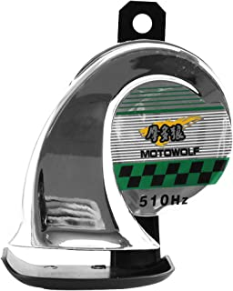 Dicrey Universal Car Horn 12V Vehicle of Motorcycle Truck Boat Kit for Trucks 150 db Electric Loud Snail Air Horn Siren Waterproof 2PCS