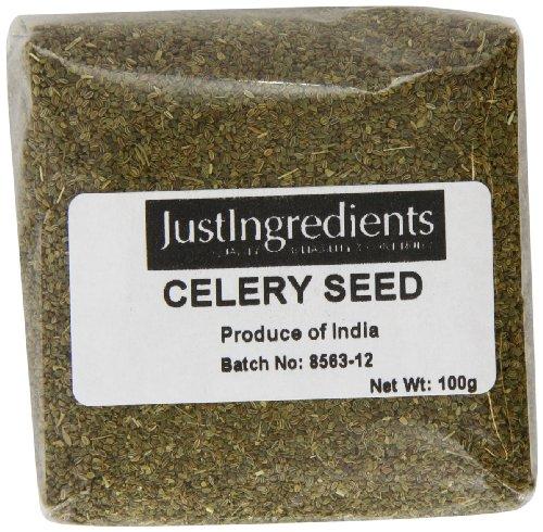 JustIngredients Essential Selleriesamen, Celery Seeds (1 x 100 g)