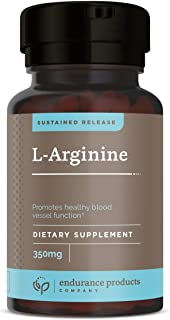 L-Arginine Sustained Release Tablets, 400 Count