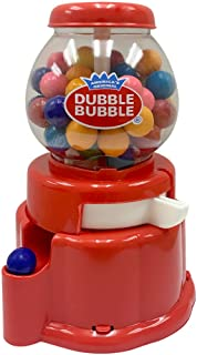 Dubble Bubble Plastic Gumball Dispenser and Bank 6in (Colors may vary)