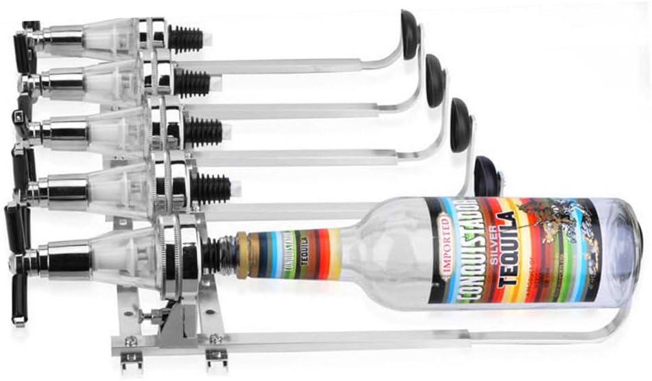 Gdrasuya 4Bottle Wine Liquor Dispenser Wall Stan Mount Beer Cheap SALE Start Rack Max 58% OFF