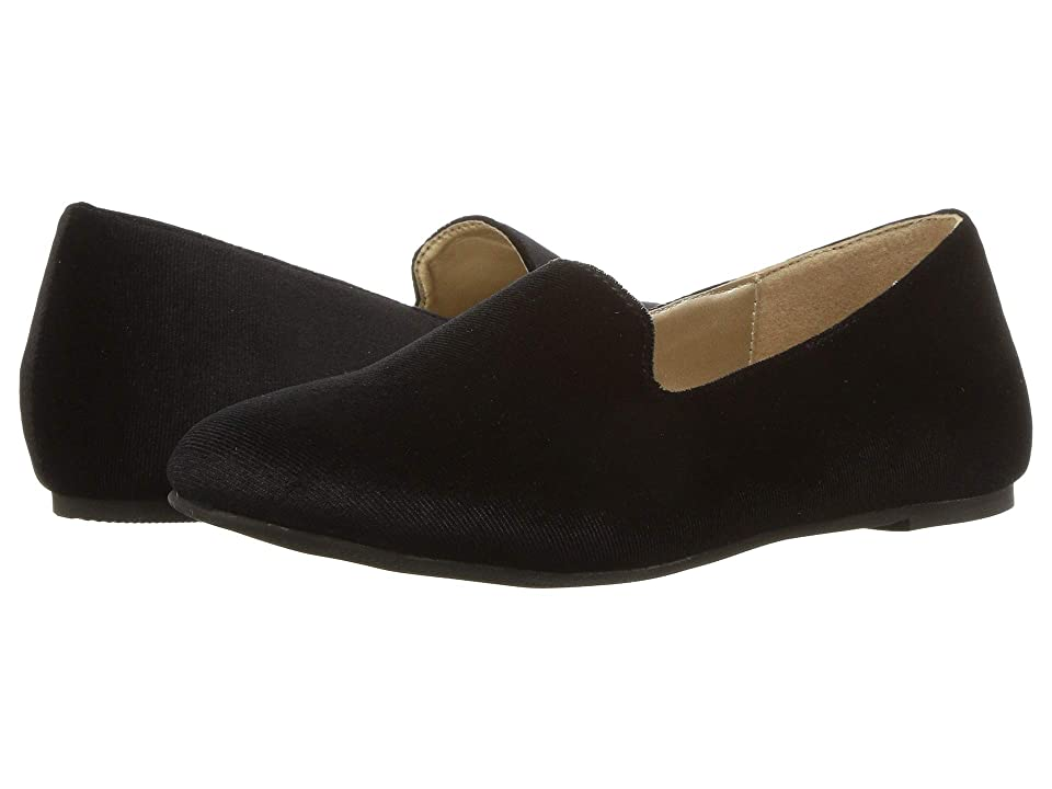 Amiana 6-A0963 (Toddler/Little Kid/Big Kid/Adult) (Black Suede) Girl