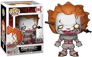 Horror-Shop IT Pennywise con Wrought Iron Funko Pop! Figura
