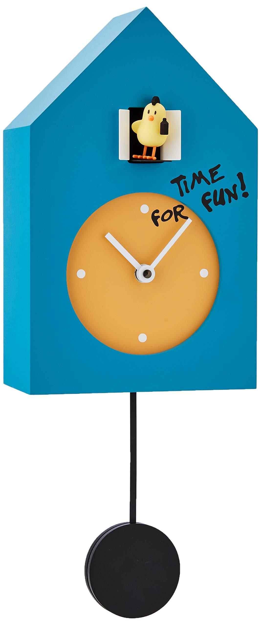 Progetti Freebird Punk Time For Fun Wall Clock