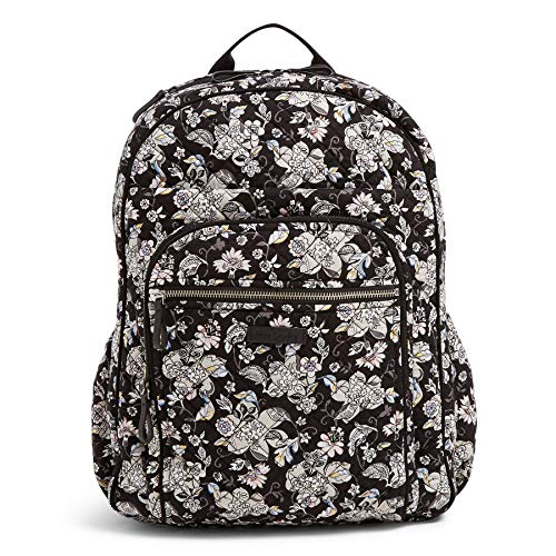 Vera Bradley Iconic XL Campus Backpack, Signature Cotton, Holland Garden