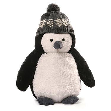 """GUND Christmas Puffers Penguin Plush, 13""""/Medium"""
