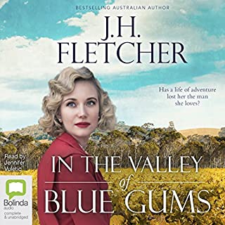 In the Valley of the Blue Gums audiobook cover art