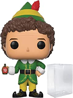 Funko Pop! Holidays: Elf the Movie - Buddy the Elf Vinyl Figure (Bundled with Pop Box Protector Case)