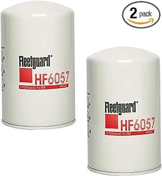 Replaces Baldwin BT839 Bobcat 6516722 Fleetguard HF6057 Pack of 2 ...