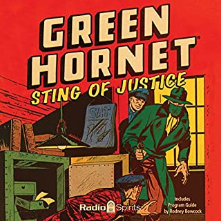 Green Hornet audiobook cover art