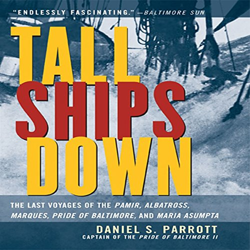 Tall Ships Down audiobook cover art